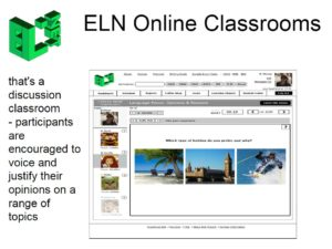 The ELN Online English Classrooms